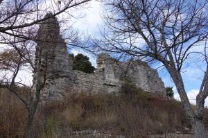 Das Chateau hat schon bessere Zeiten gesehen