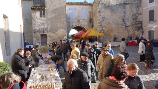 Der Trüffelmarkt in Menerbes