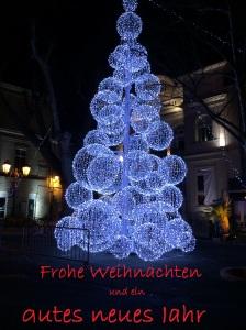 Der Weihnachtsbaum der anderen Art! Apt 2014