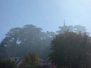 Noch immer Nebel im Oberdorf