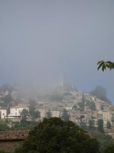 Noch mehr Nebel um das Schloss