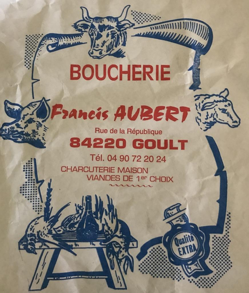 Francis Aubert Werbung